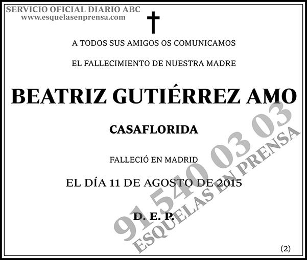 Beatriz Gutiérrez Amo